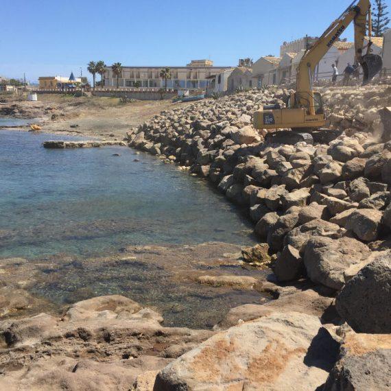impresa costruzioni ispica edile restauri consolidamento difesa della costa lavori marittimi